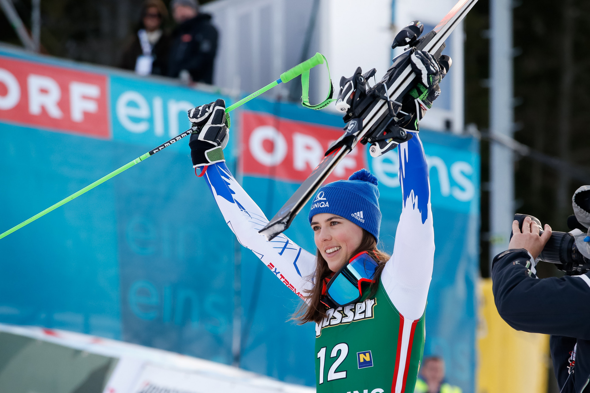 Vlhova secures first giant slalom victory of career at FIS Alpine Skiing World Cup in Semmering