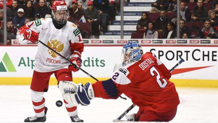 The Czech Republic lost 1-2 to Russia despite being the better side for much of the game ©IIHF