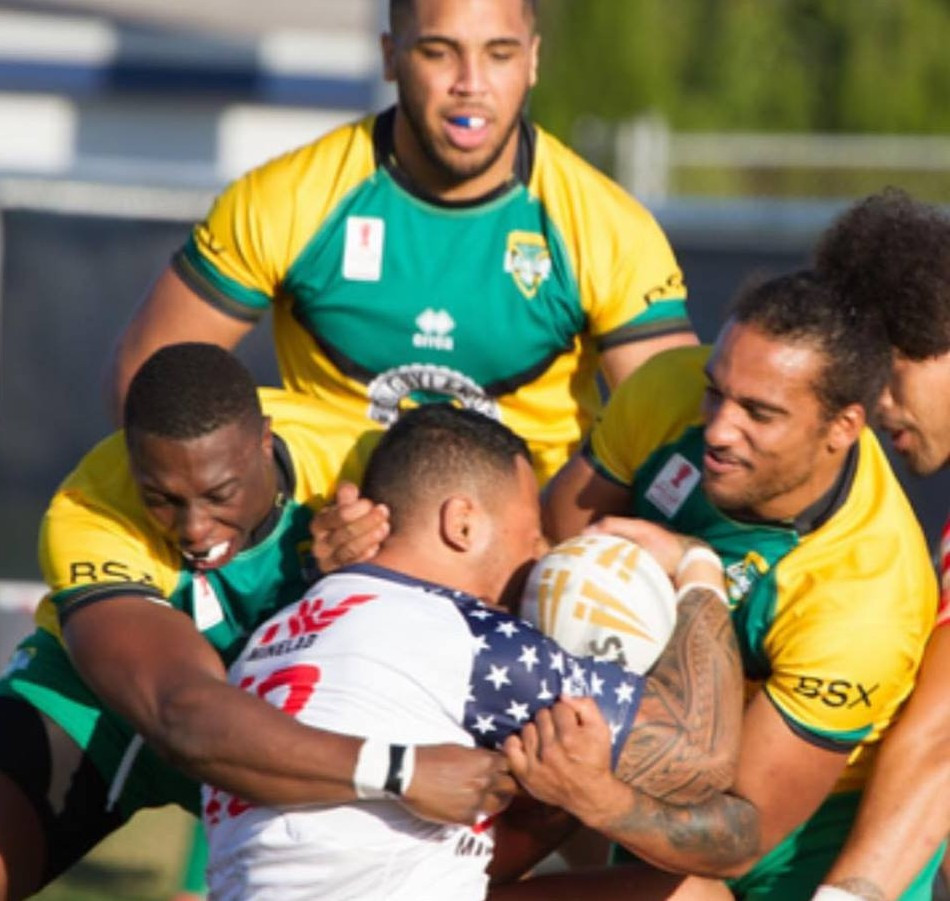 Jamaica beat the United States in the finals of the Americas Championship in Jacksonville in Florida to qualify for the 2021  Rugby League World Cup in England ©Facebook