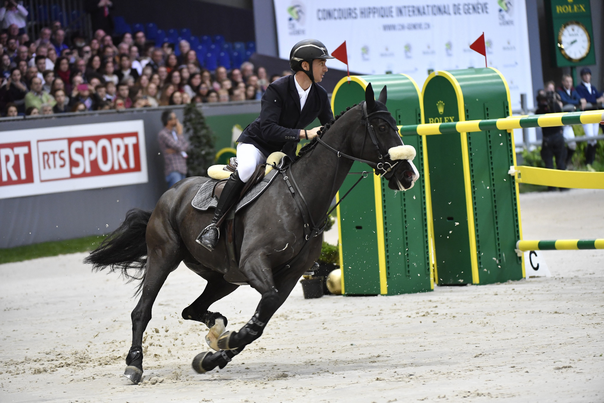 Switzerland's Steve Guerdat is one of those to have already reached the 40 point mark ©Getty Images