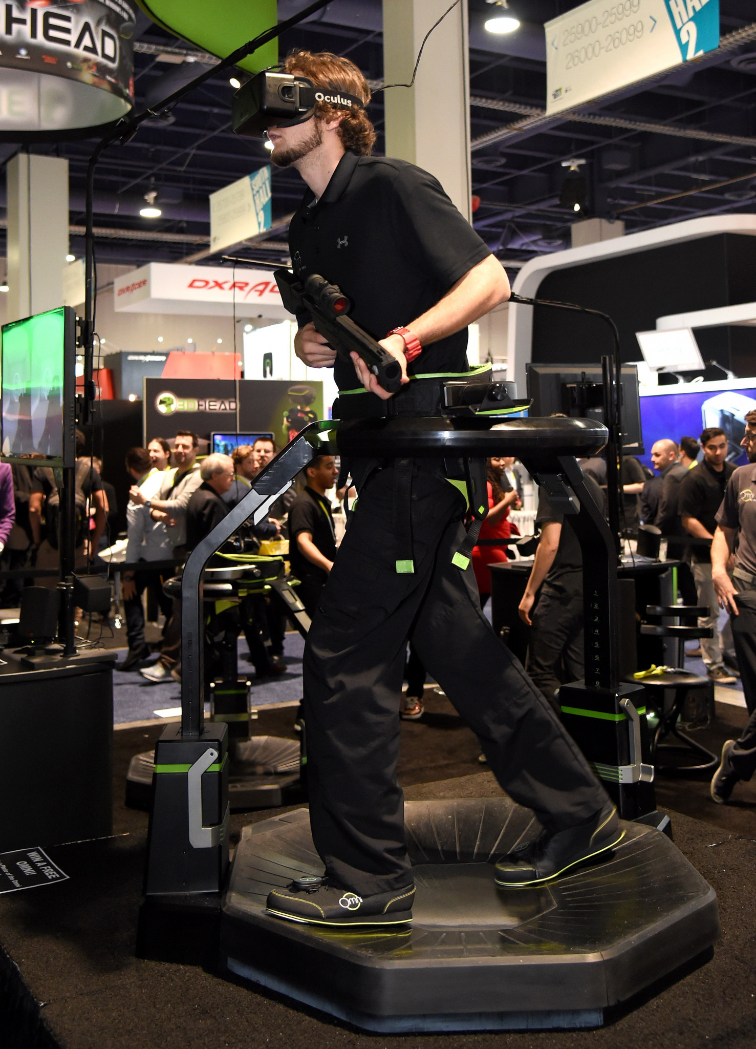 Omni directional treadmills are already available, at a price ©Getty Images