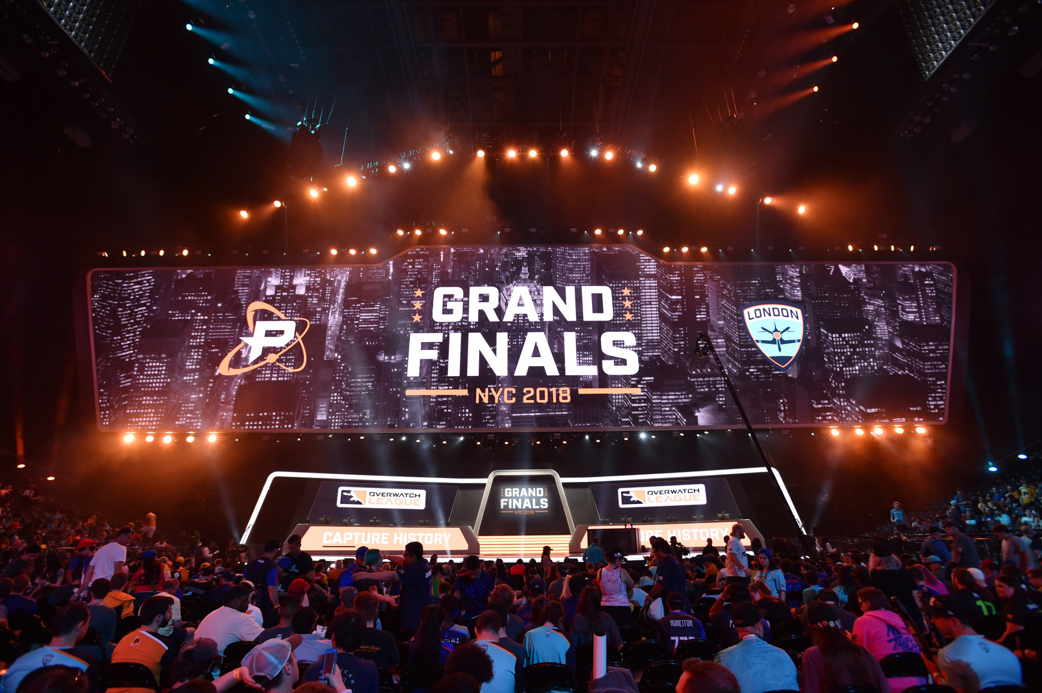 Today's Overwatch League is already popular enough to fill vast arenas ©Getty Images