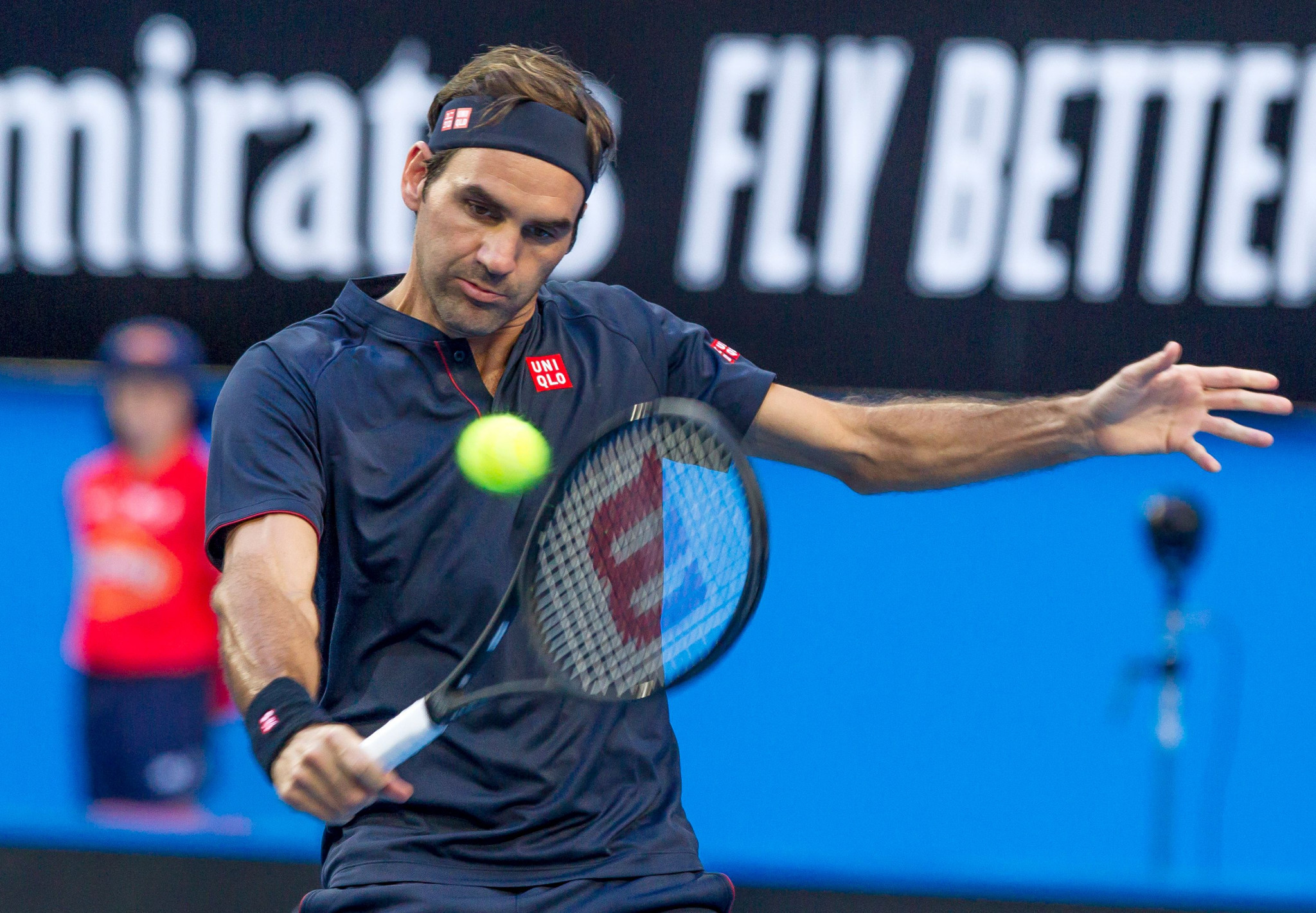 Roger Federer defeated Britain's Cameron Norrie to help Switzerland win its first tie of the Hopman Cup in Perth ©Getty Images