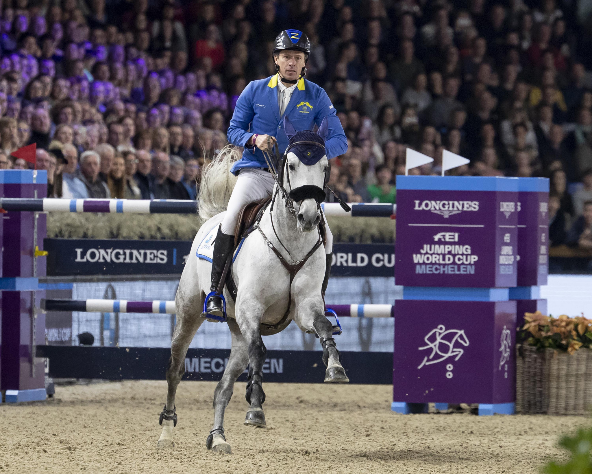 Germany's Ahlmann wins ninth leg of FEI Jumping World Cup