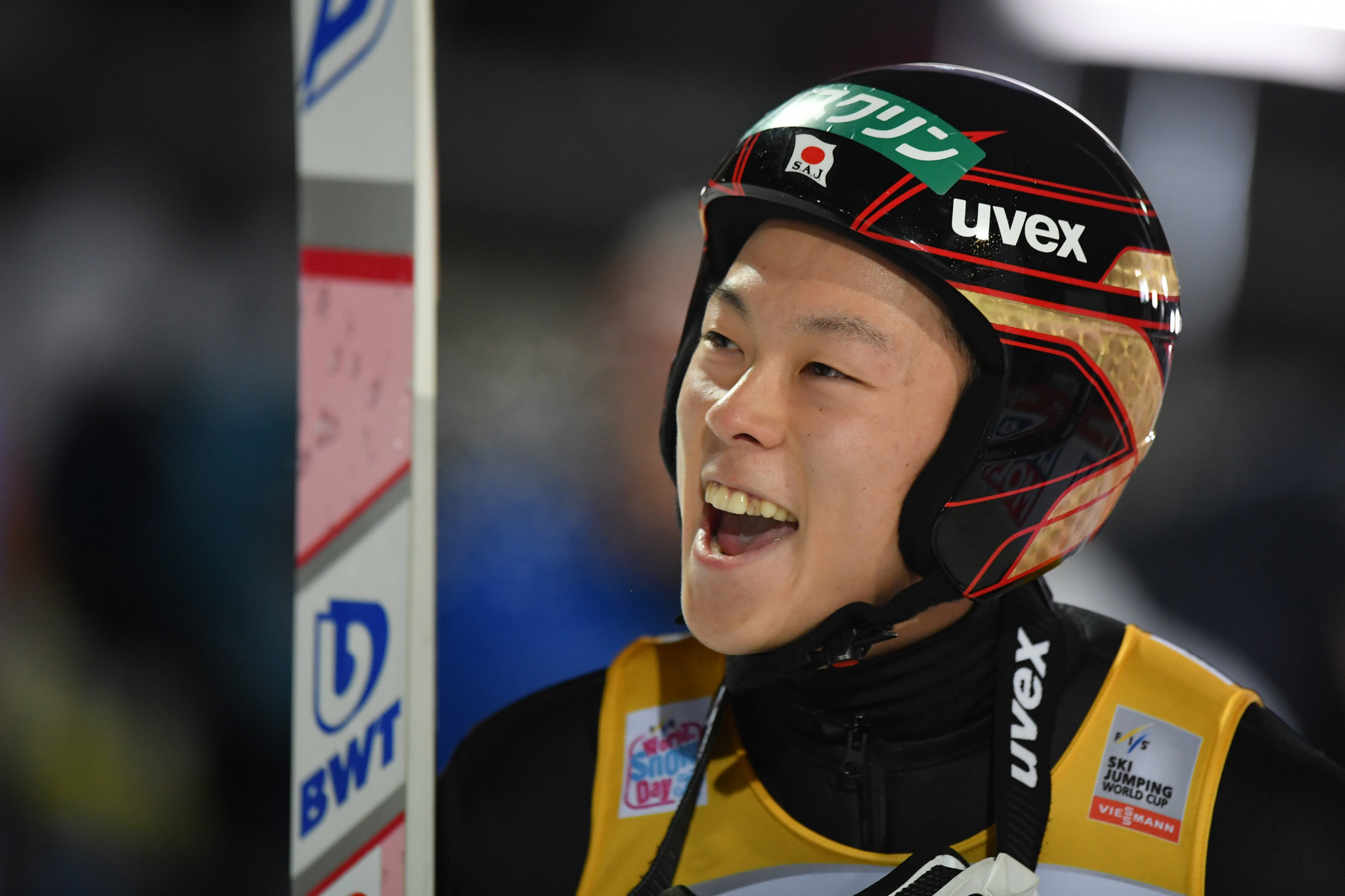 Japan's Kobayashi continues dominant form to win FIS Ski Jumping World Cup event in Oberstdorf