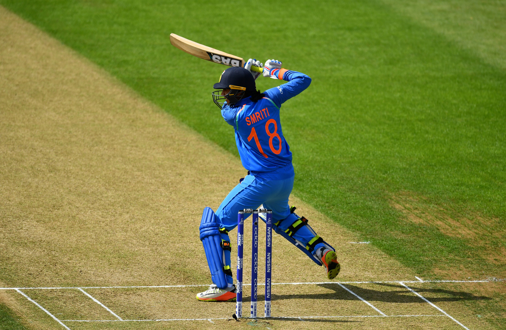 India's Smriti Mandhana has been named as the International Cricket Council's Women's Cricketer of the Year ©Getty Images