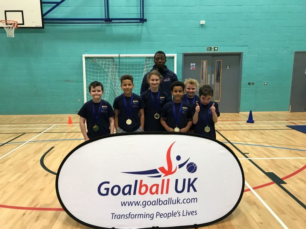 Goalball UK has successfully held its first school competition ©Goalball UK