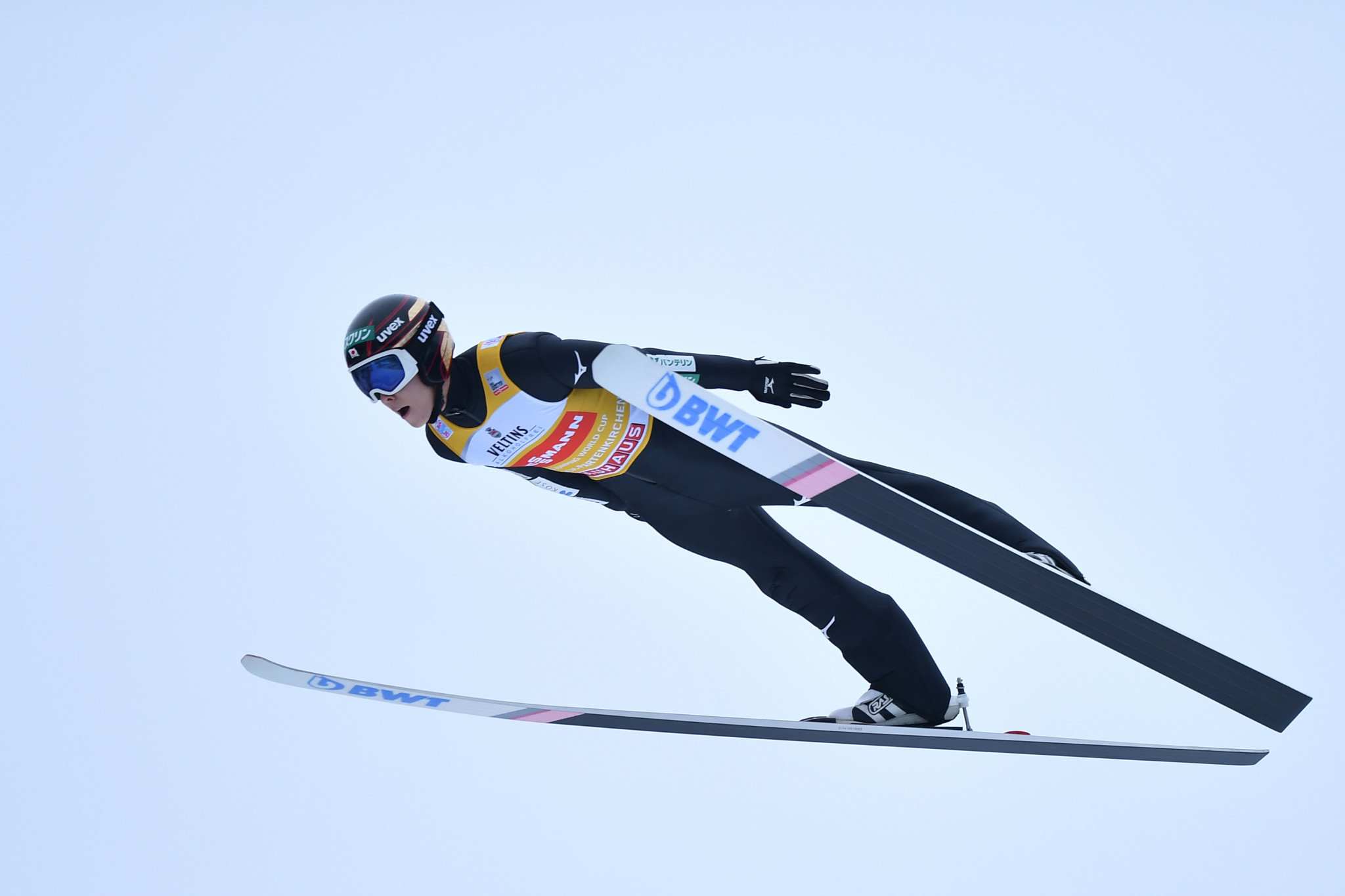 Ryōyū Kobayashi qualified in second after winning the first Four Hills event ©Getty Images