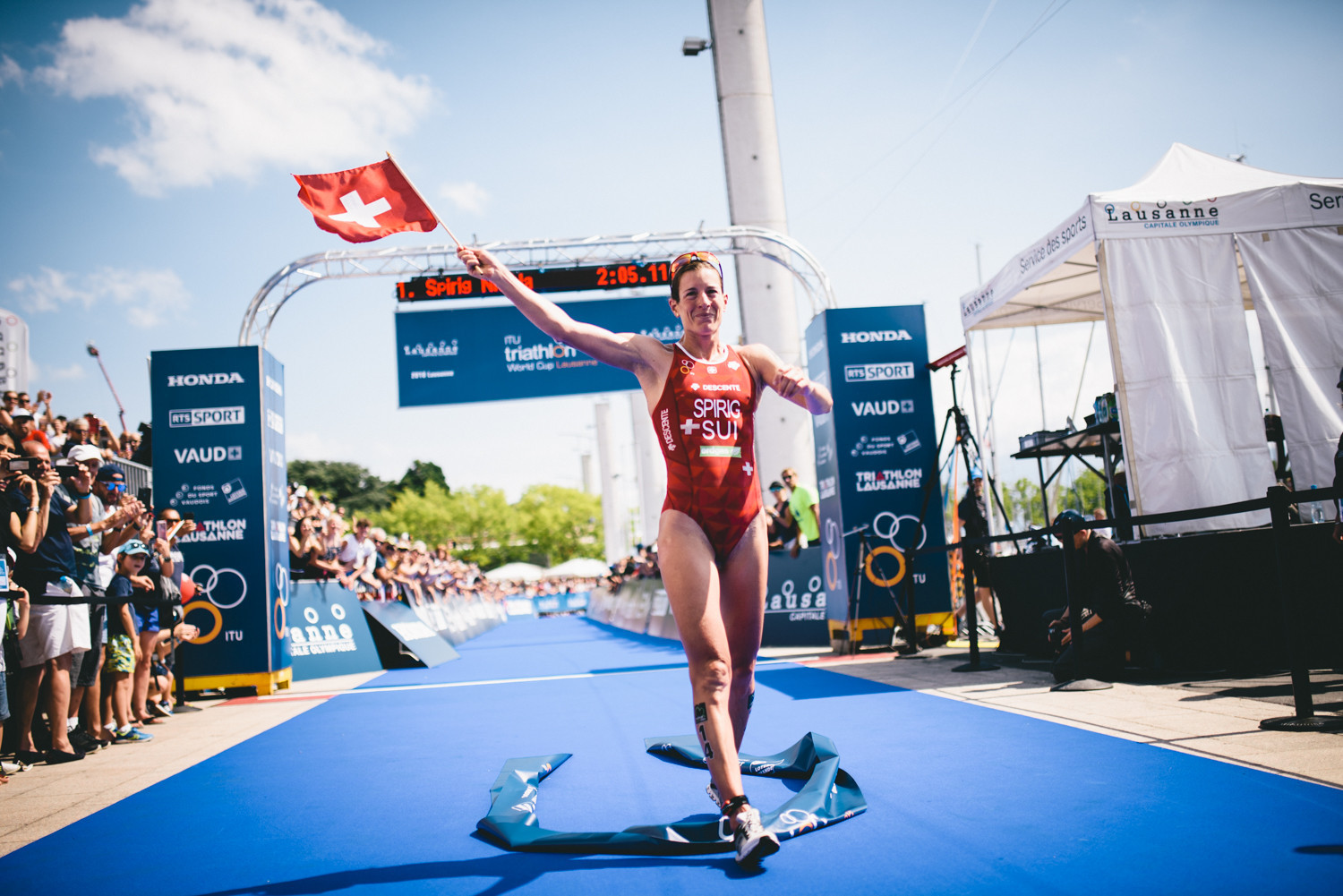 Organisers of next year's World Triathlon Series Grand Final in Lausanne have confirmed the dates for the season-ending event ©ITU