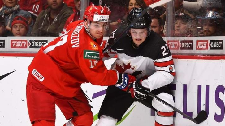 Russia beat hosts Canada today 2-1 to finish top of Group A of the IIHF World Junior Championships ©IIHF