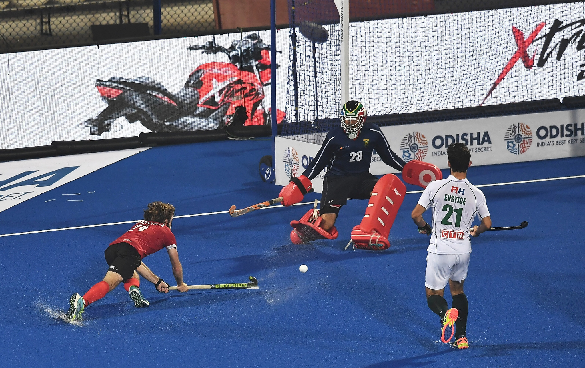 Universal use of four quarter match format among new rules implemented by FIH