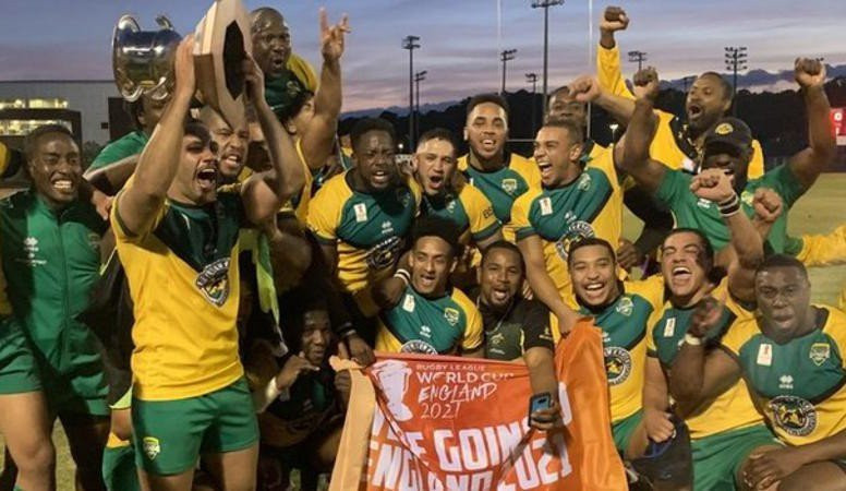 RLIF chief executive Nigel Wood congratulated Jamaica on qualifying for the 2021 Rugby League World Cup ©RLEF