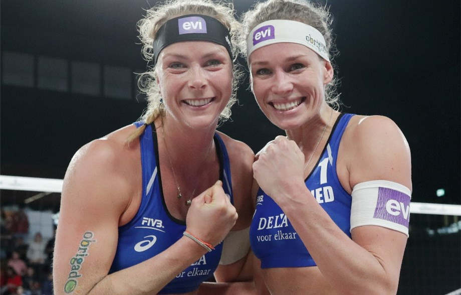 Mappelink and Keizer seeking home success as FIVB Beach Volleyball World Tour arrives at The Hague