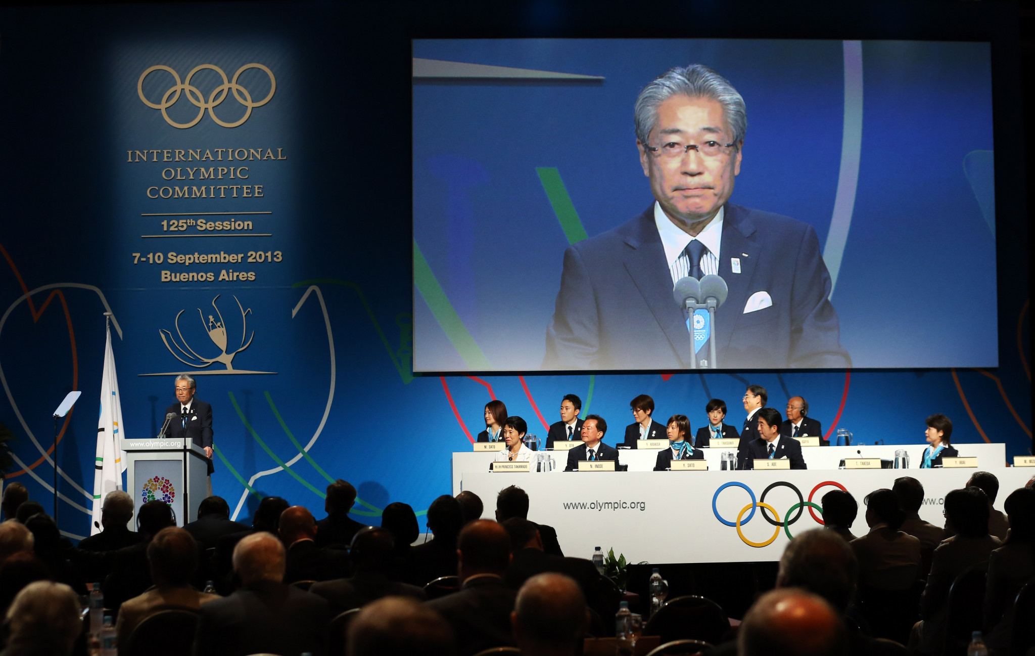 Tsunekazu Takeda played a leading role in Tokyo's successful bid for the 2020 Olympic and Paralympic Games ©Getty Images