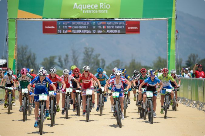 """UCI """"extremely satisfied"""" with Rio 2016 mountain bike test event"""