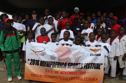 National Olympic Committee of Zambia hold annual OlympAfrica sports festival