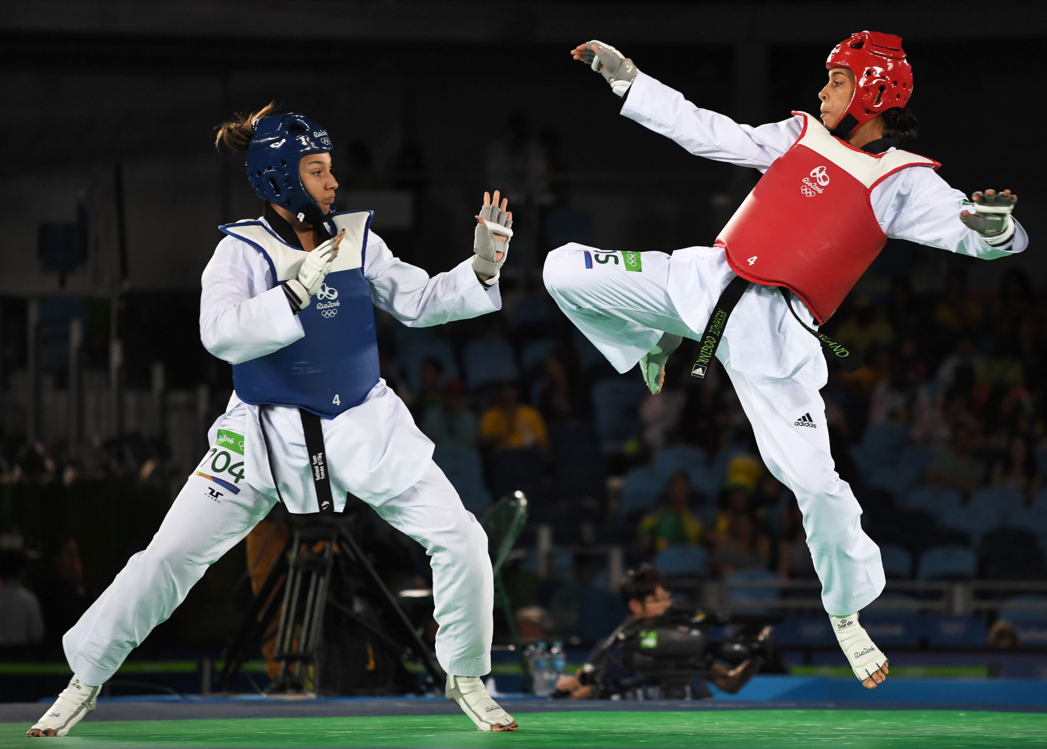 USA Taekwondo are hoping to improve their international performances in time for Los Angeles 2028 ©Getty Images
