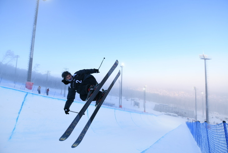 Russian city Krasnoyarsk held a halfpipe test event as preparations continued for this year's Winter Universiade in March ©Krasnoyarsk 2019