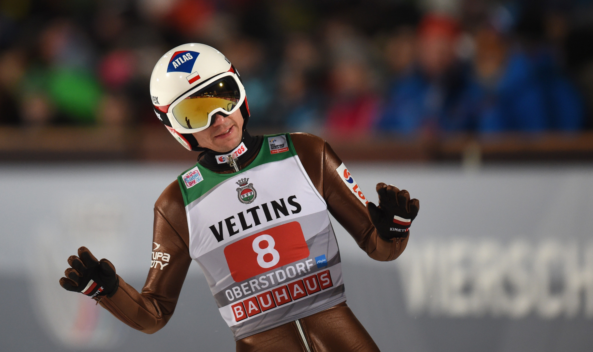 Defending Four Hills champion Kamil Stoch currently sits in sixth place overall ©Getty Images