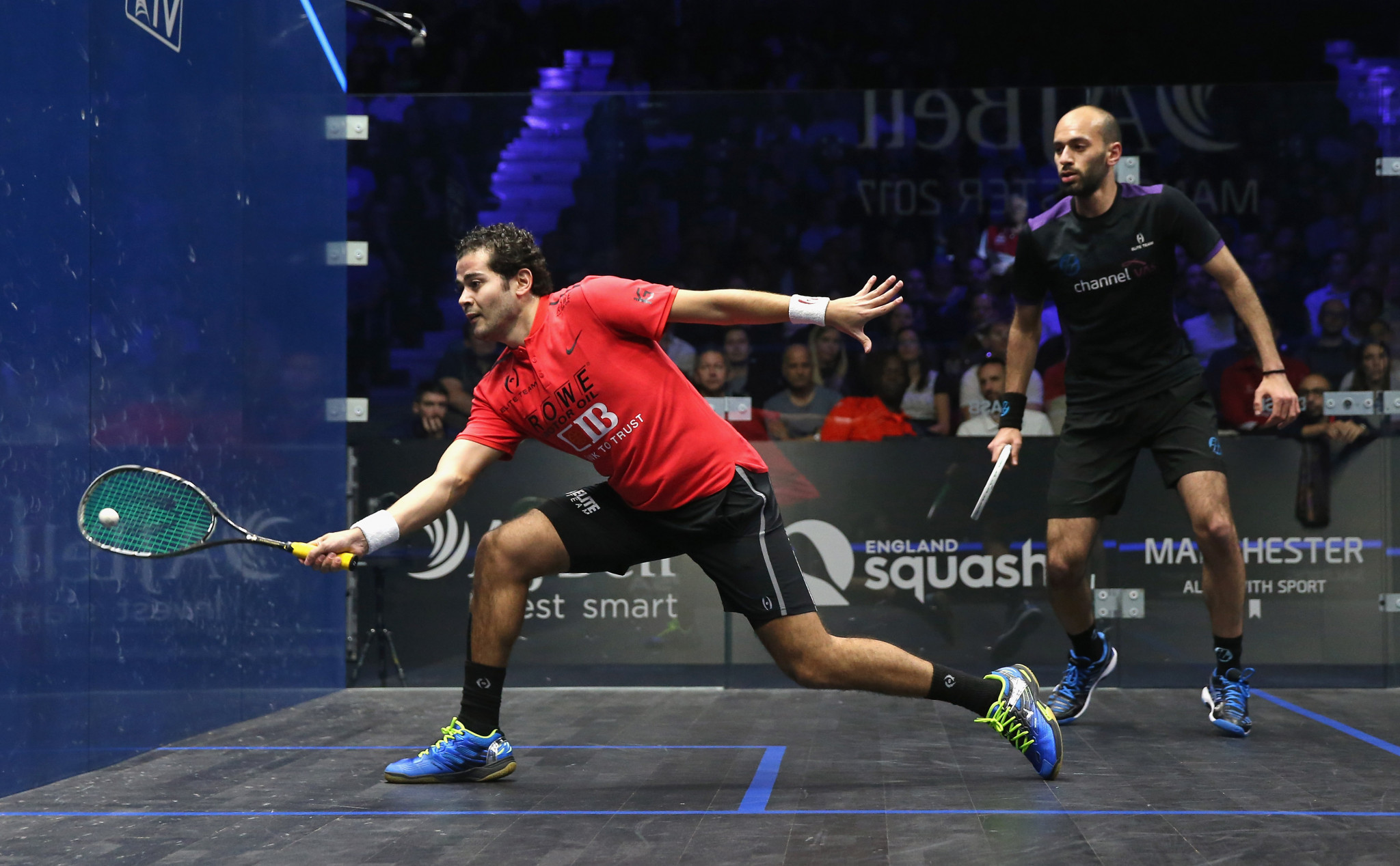 Egypt's Gawad moves back into top five of PSA men's world rankings