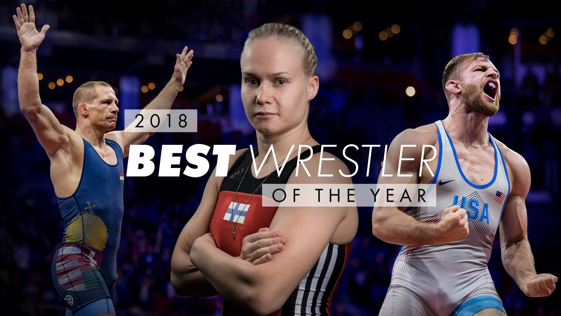 UWW name Taylor, Olli and Bacsi as 2018 wrestlers of the year