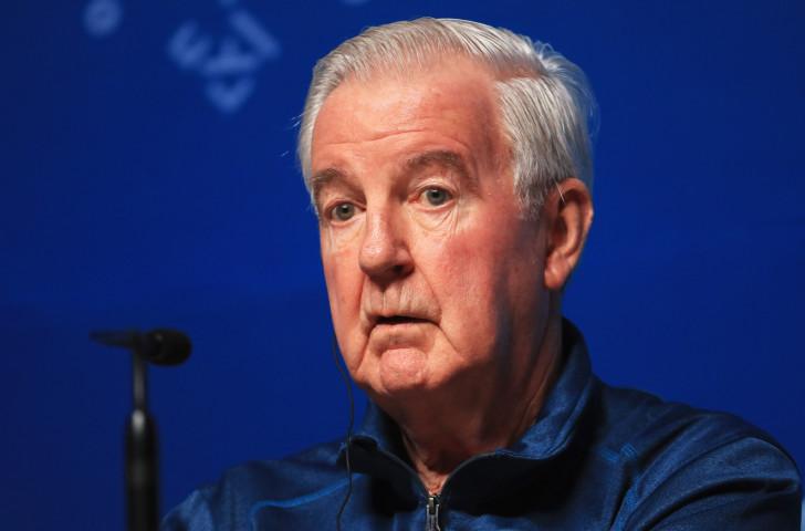 WADA President Sir Craig Reedie,