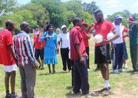 Two blind football workshops held in Southern Zimbabwe