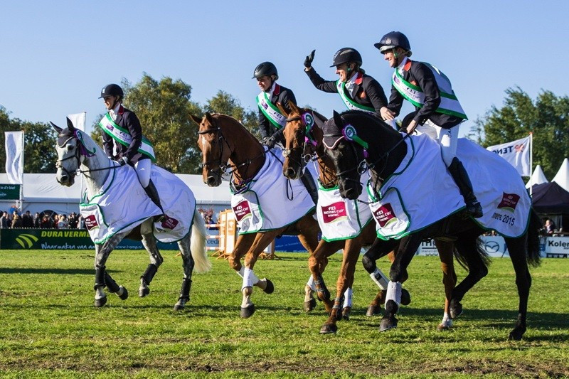 Ireland win final FEI Nations Cup Eventing competition but Britain secure overall title