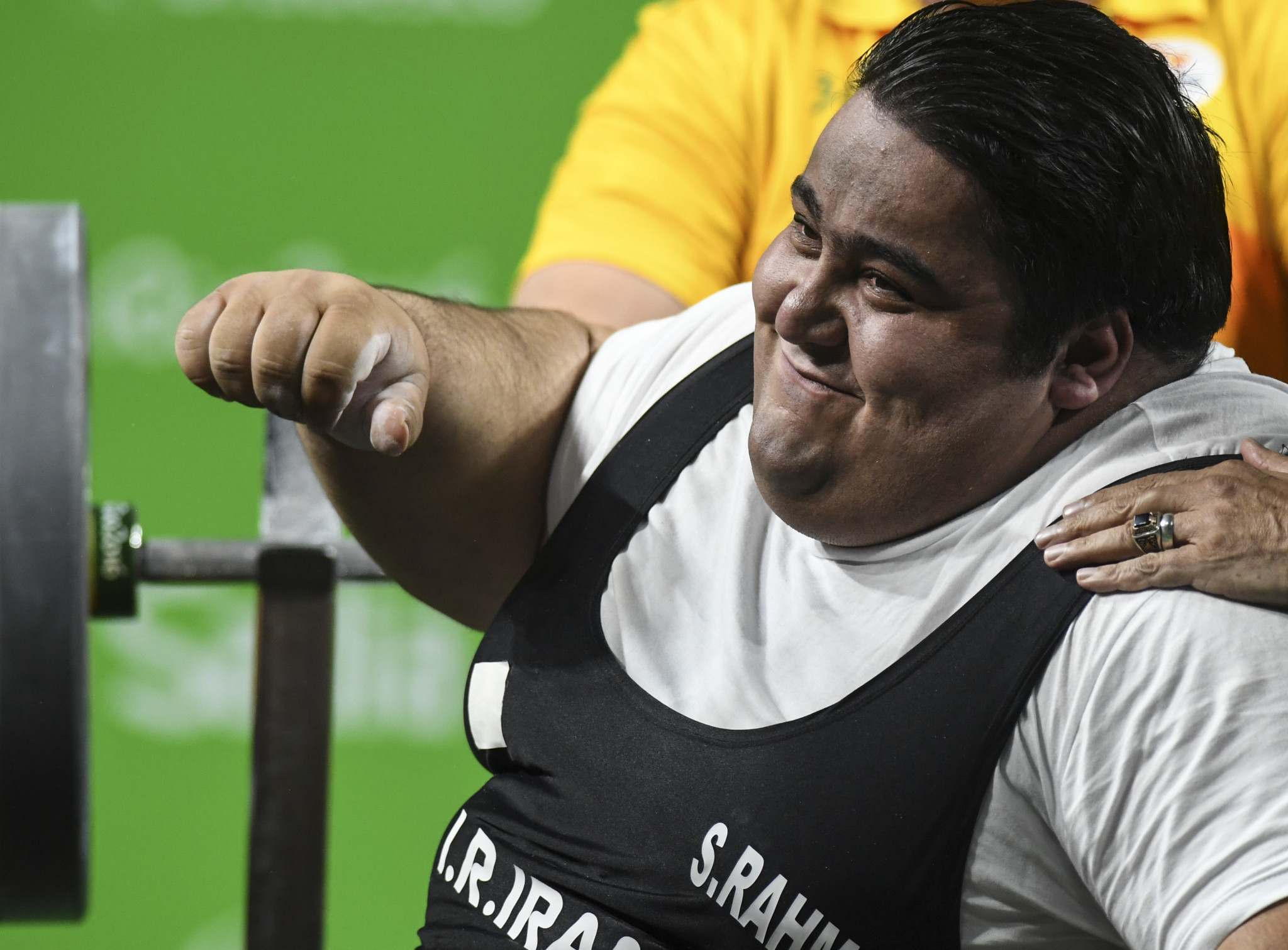Iran's Siamand Rahman has been shortlisted for the Best Powerlifter of 2018 award following his performance at the Asia-Oceania Open Championships ©Getty Images