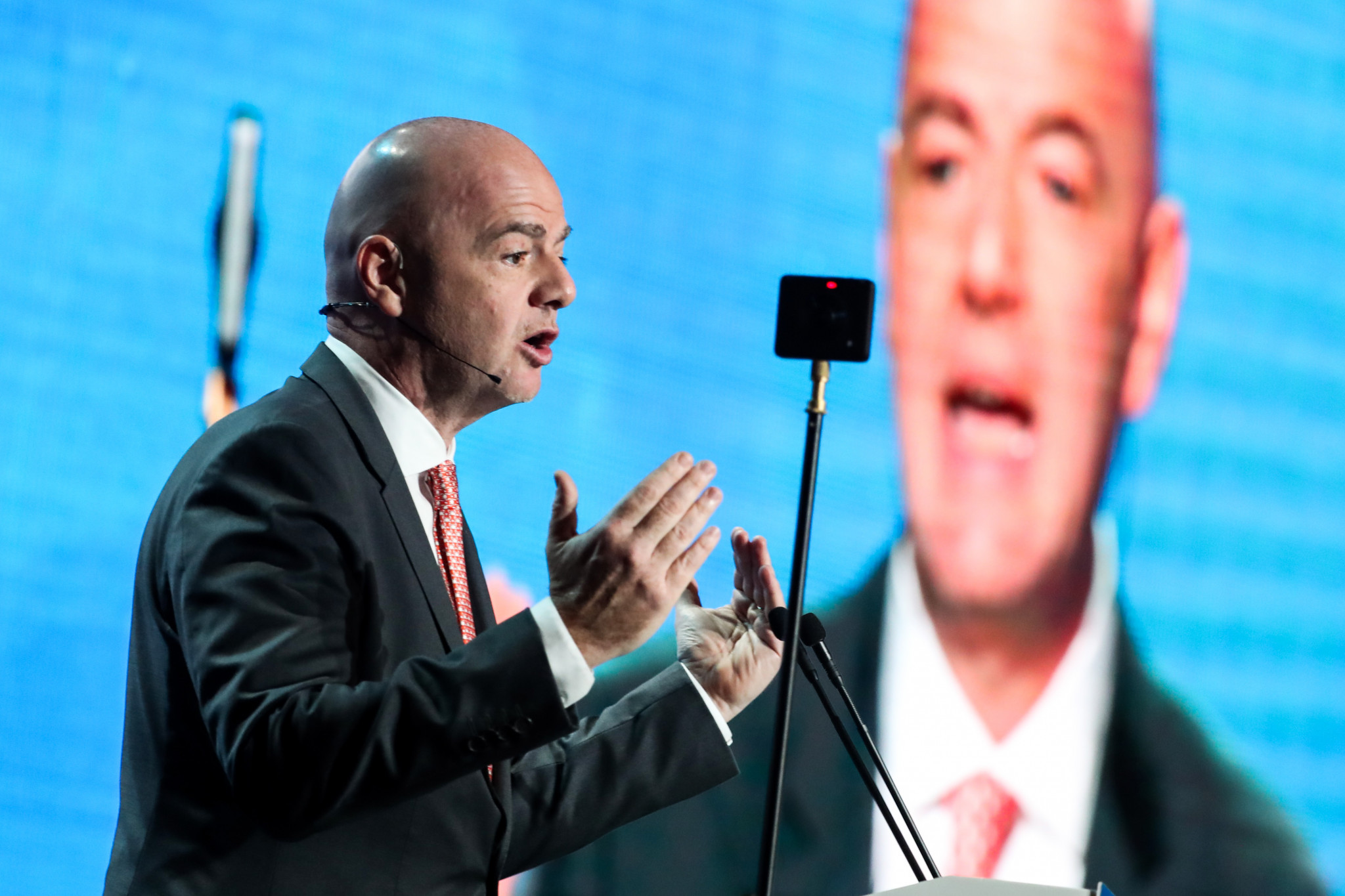 Infantino hints yet again at Qatar 2022 World Cup expansion