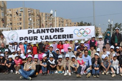 Algerian Olympic Committee plants 1,000 trees to show sporting commitment to the environment