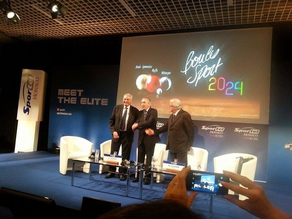 Boules launches 2024 Olympic campaign