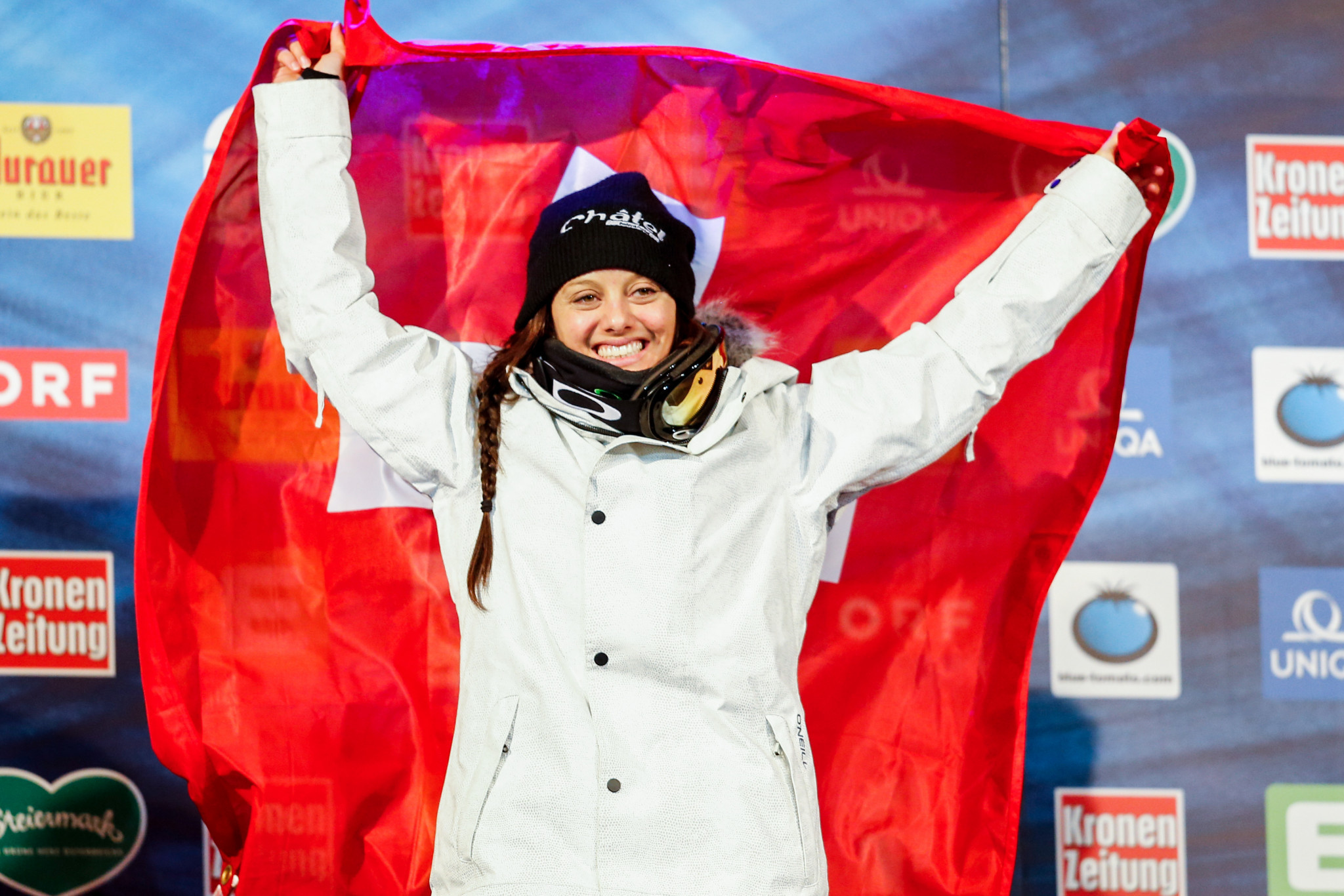 New President of the Lausanne 2020 Organising Committee, Virginie Faivre, is a three-time halfpipe world champion ©Getty Images