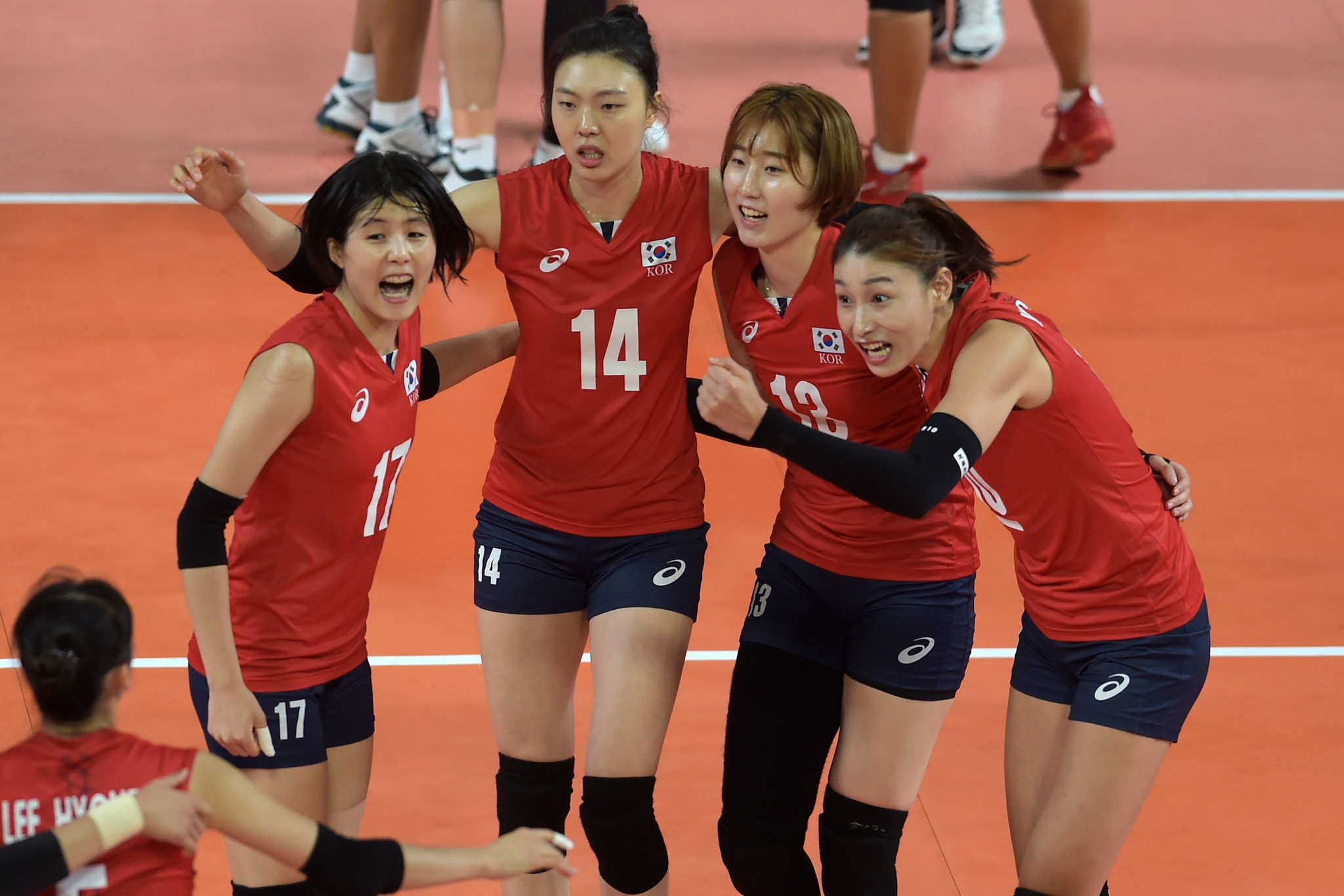 The South Korean women's team have never won the Asian Volleyball Championship but have finished as runners-up seven times ©Getty Images