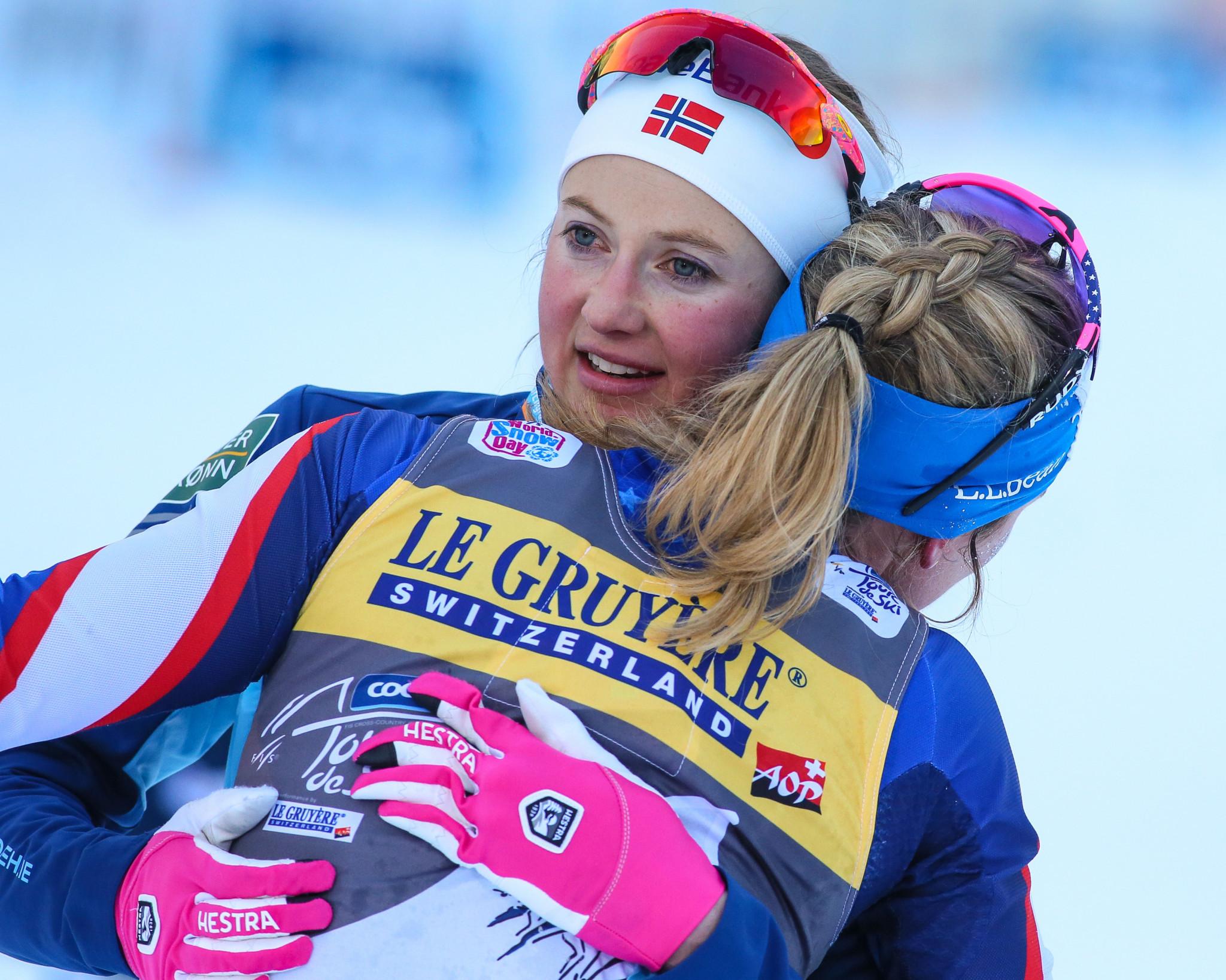 Ingvild Flugstad Østberg is in pole position to win the women's Tour de Ski ©Getty Images