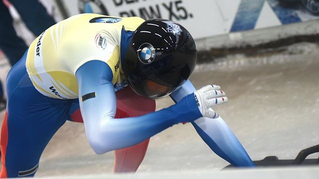 Aleksandr Tretiakov of Russia claimed his second successive men's skeleton victory in the IBSF World Cup event in Altenberg ©IBSF