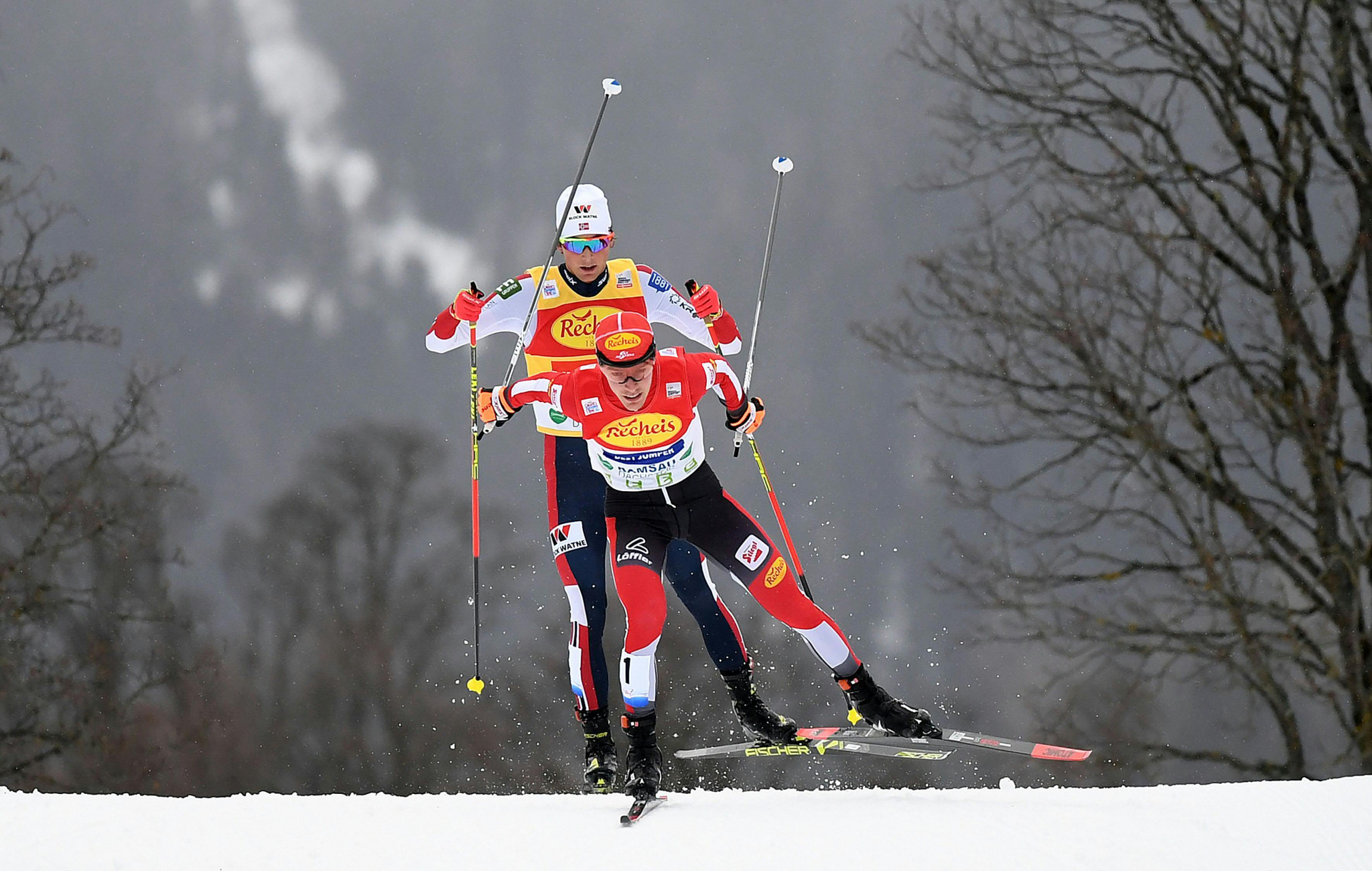 Jarl Magnus Riiber will seek to extend his World Cup lead with victory in Otepää ©Getty Images
