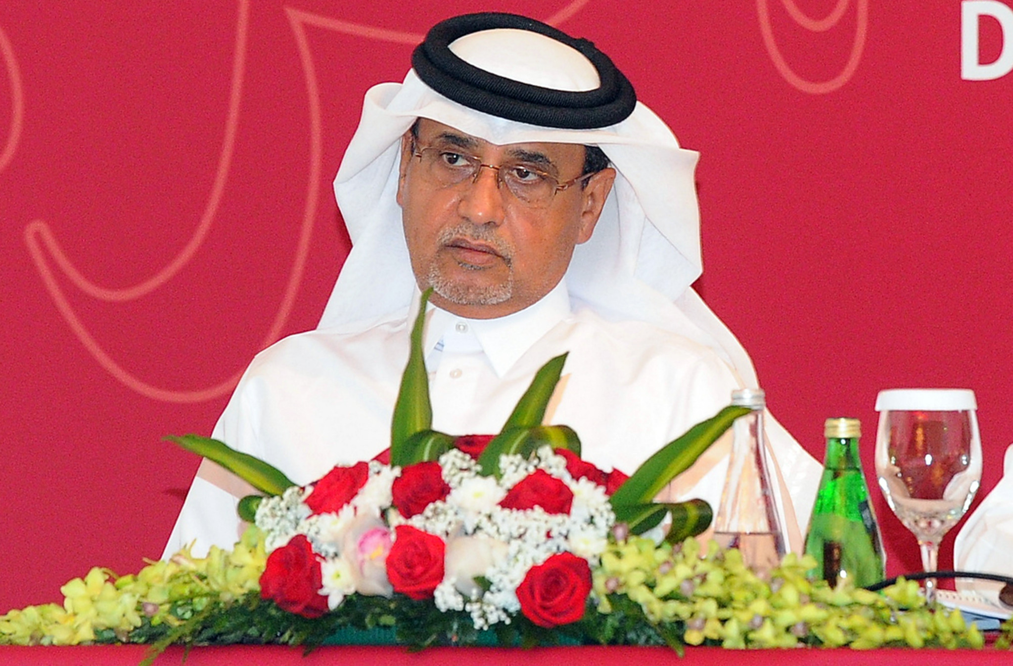 Qatari Saoud al-Mohannadi, vice-president of the AFC, was refused entry into the UAE before the Asian Cup tournament began ©Getty Images