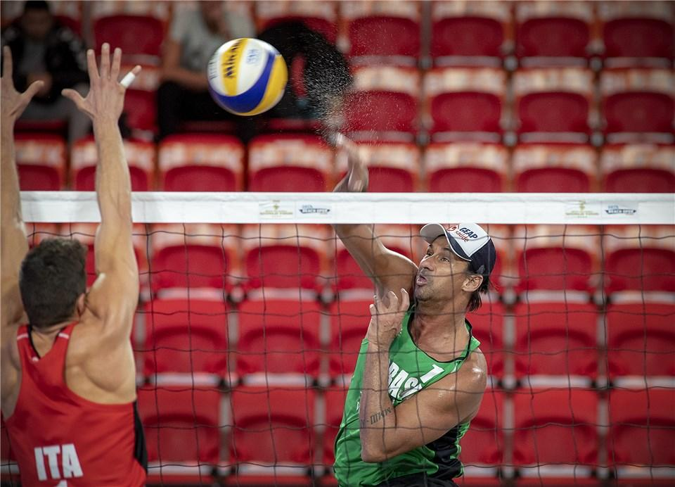 The pool phase of the men's competition concluded today ©FIVB