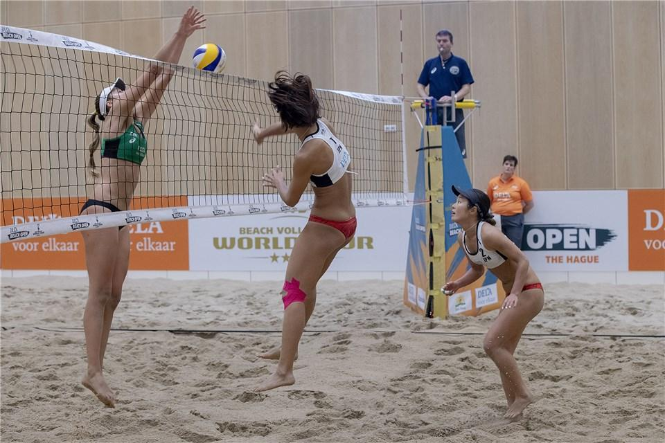 Knock-out phase begins at FIVB Beach Volleyball World Tour in The Hague