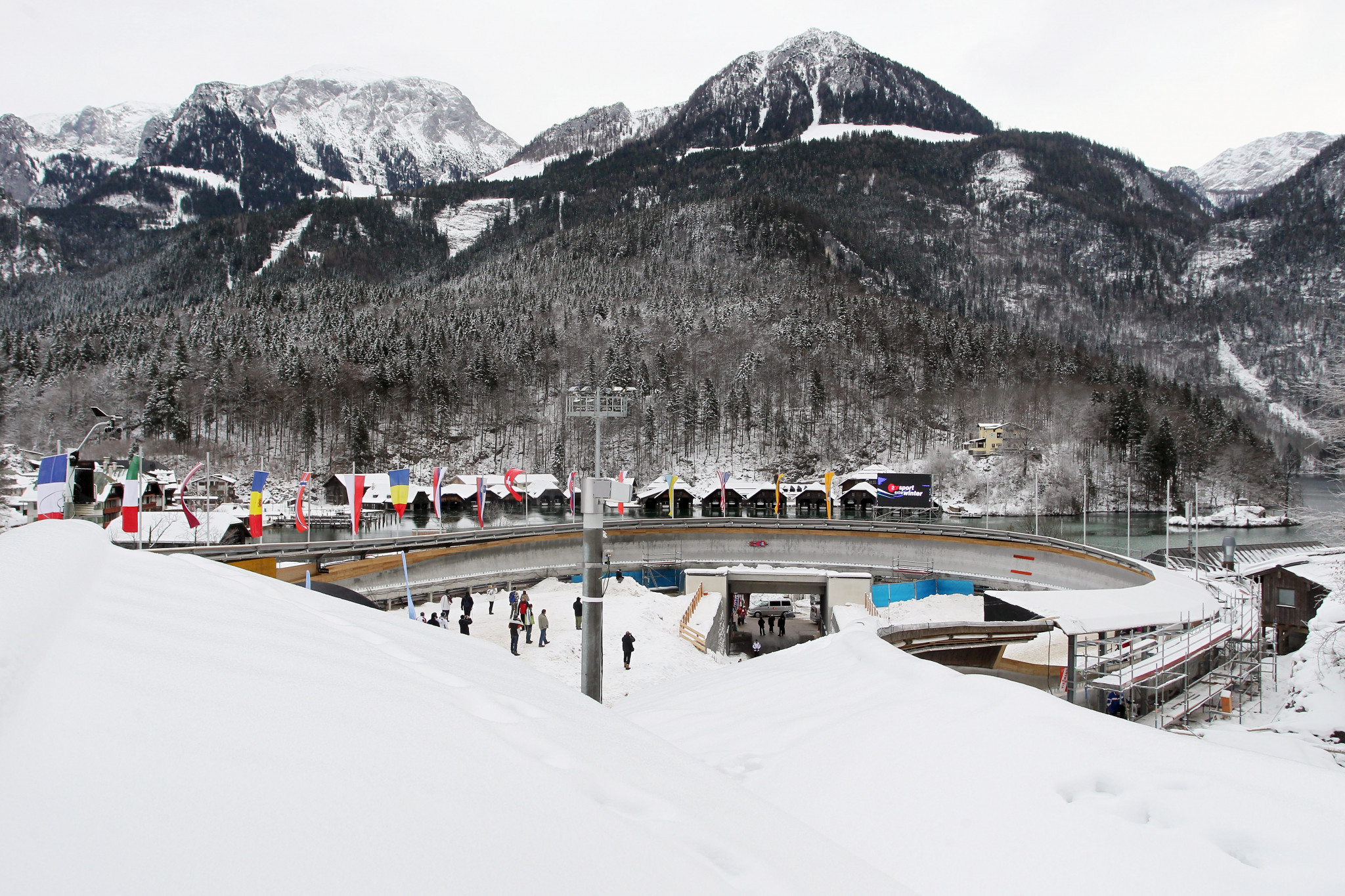 The Königssee luge track will celebrate its 50th anniversary by hosting a Luge World Cup event ©Getty Images