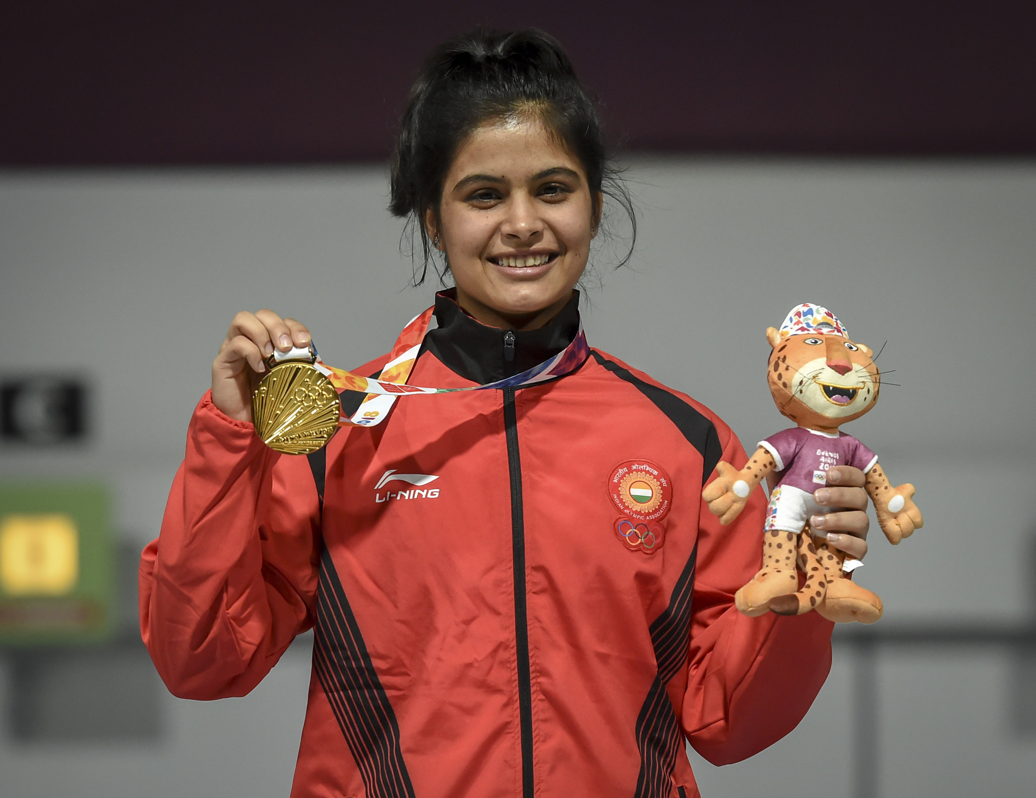 Manu Bhaker is set to receive her gold medal bonus from the Youth Olympics ©Getty Images