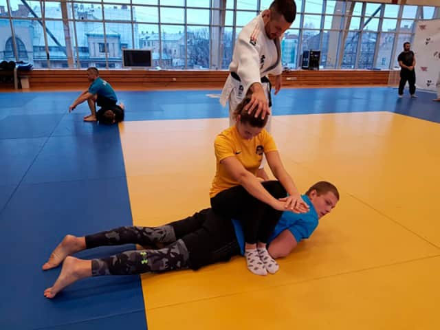 Practical exercises were part of the event  ©IJF