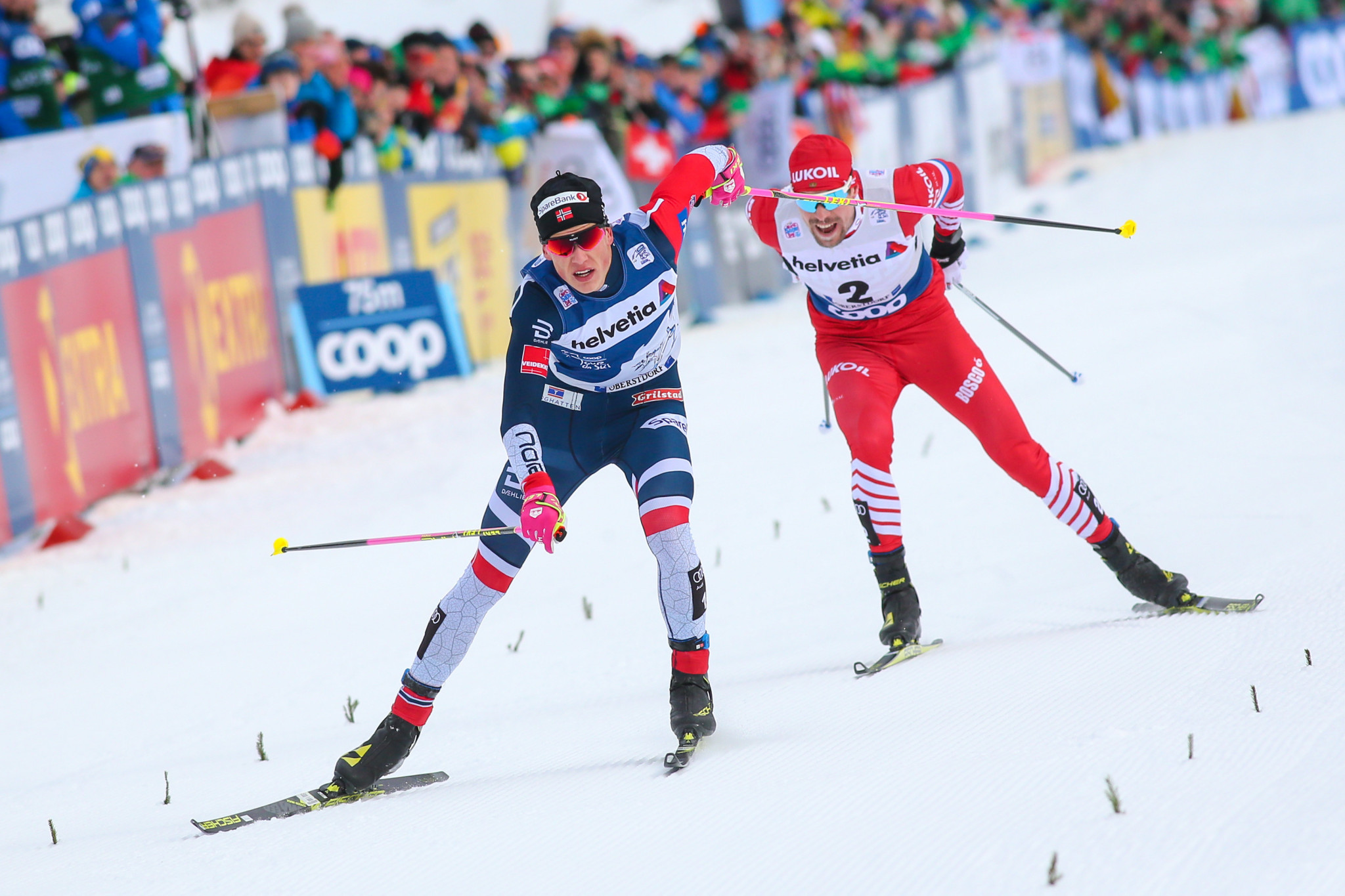 Klaebo and Østberg set for Tour de Ski triumphs after further victories in Val di Fiemme