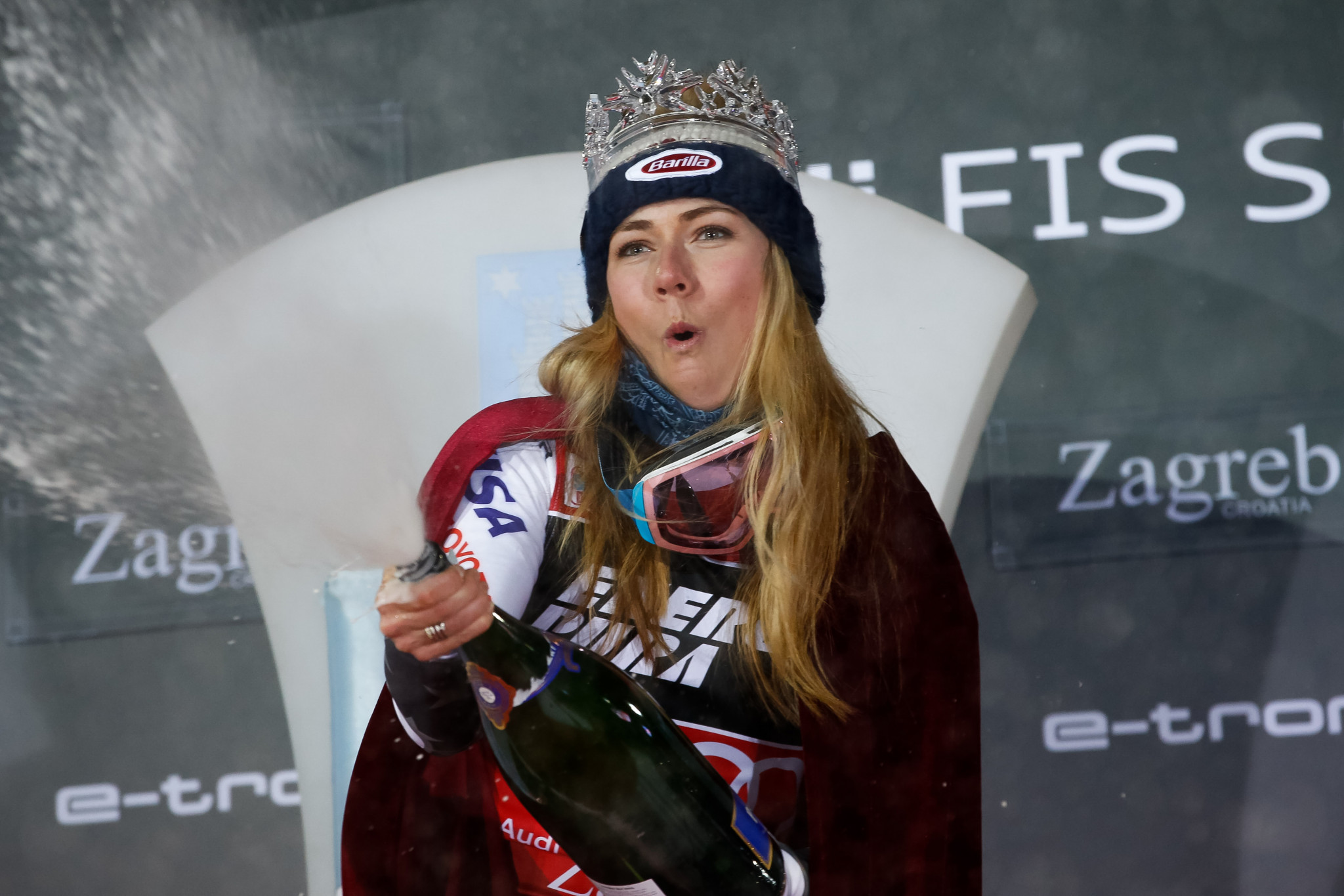 Shiffrin extends Alpine World Cup lead with slalom success in Zagreb