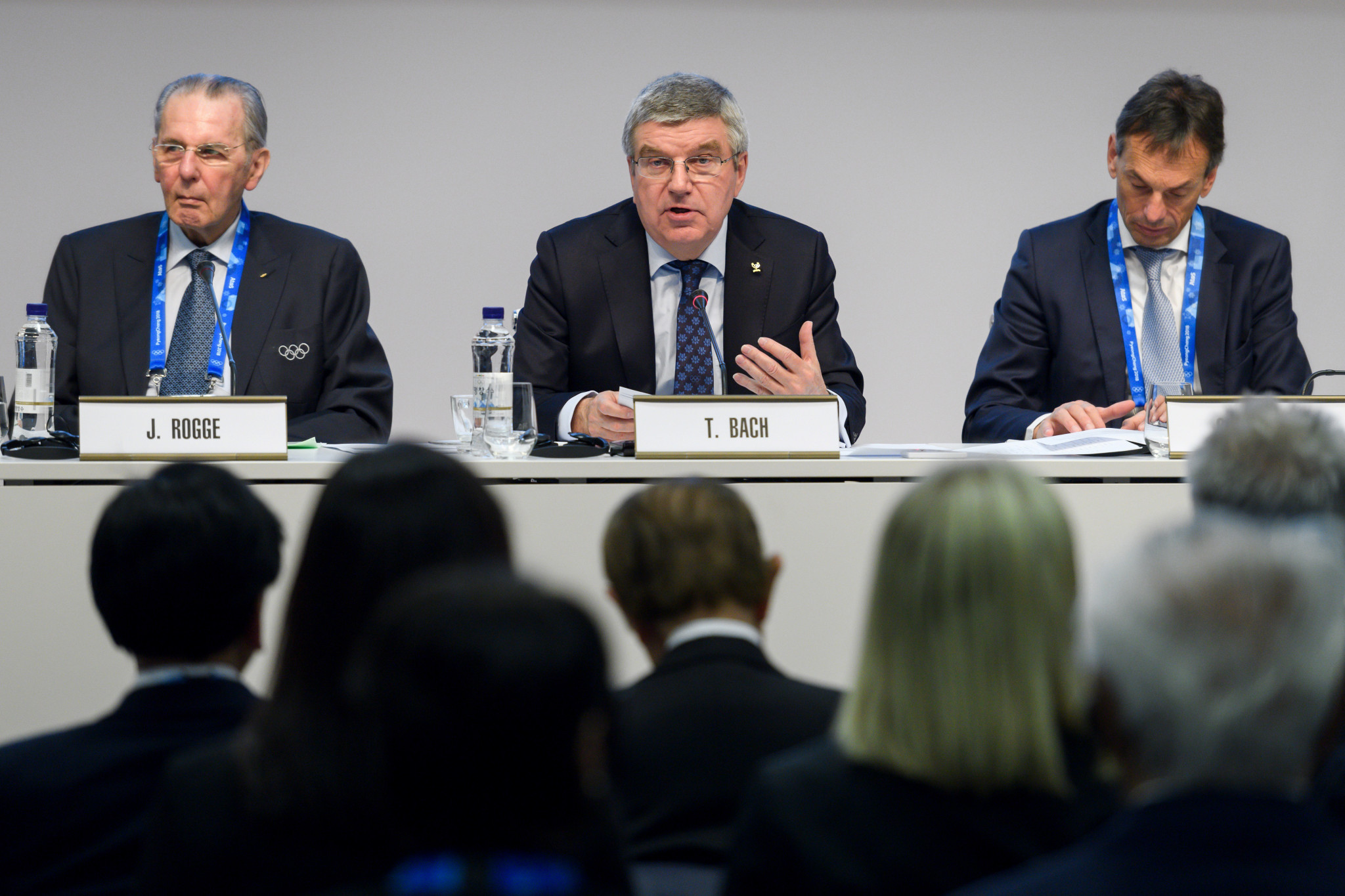 The IOC sought to draw a line under the Russian doping crisis at the IOC Session in Pyeongchang last year ©Getty Images