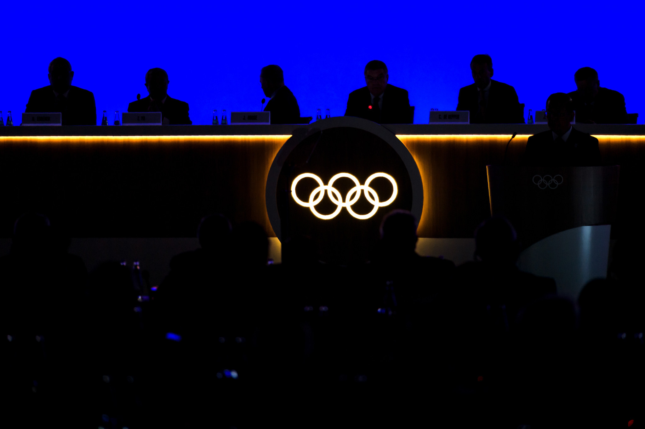"Richard Peterkin described IOC members as ""volunteers"" helping to guide staff along ©Getty Images"