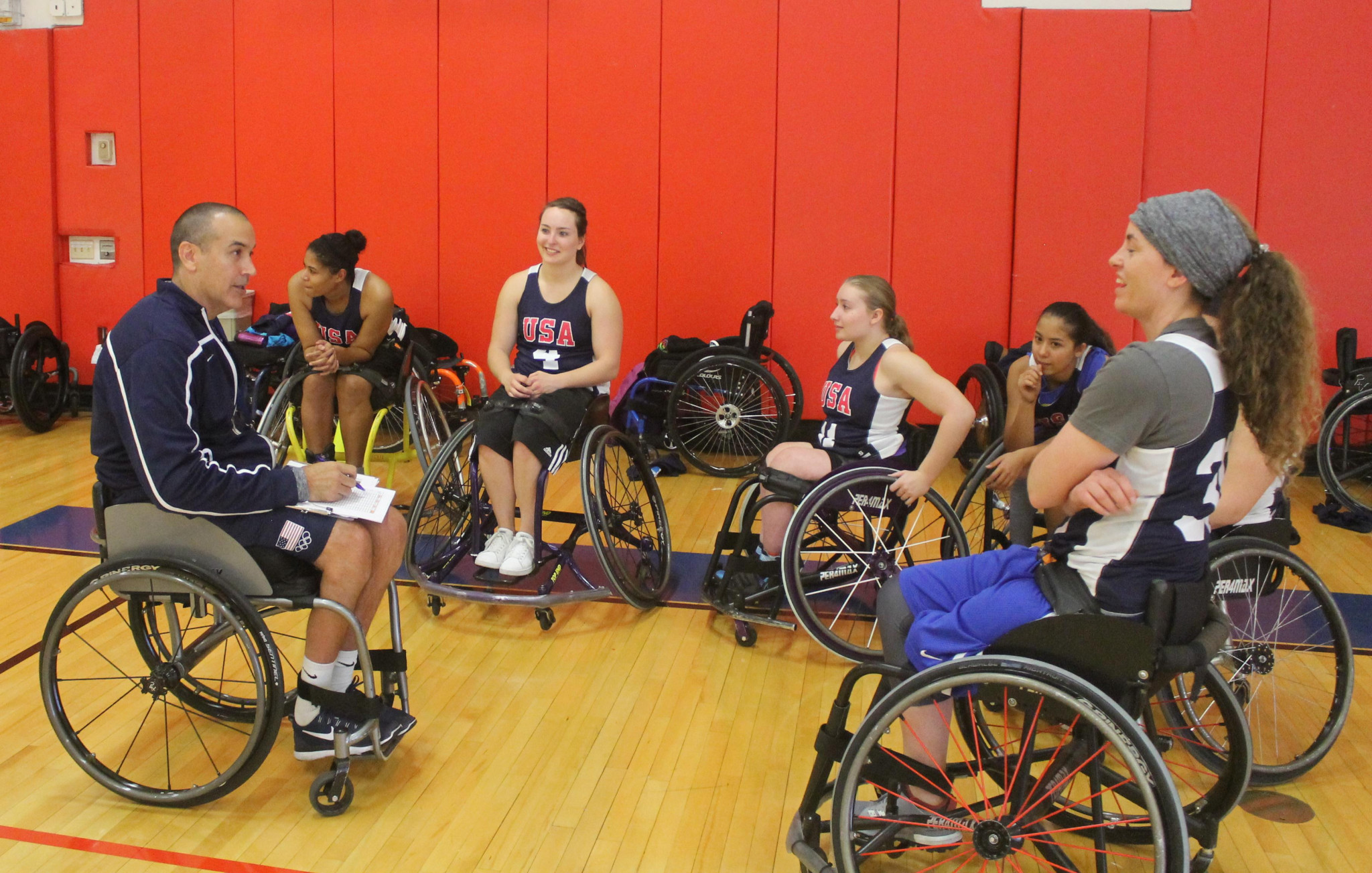 Trooper Johnson will coach the women's side at the 2019 Parapan American Games this August ©NWBA
