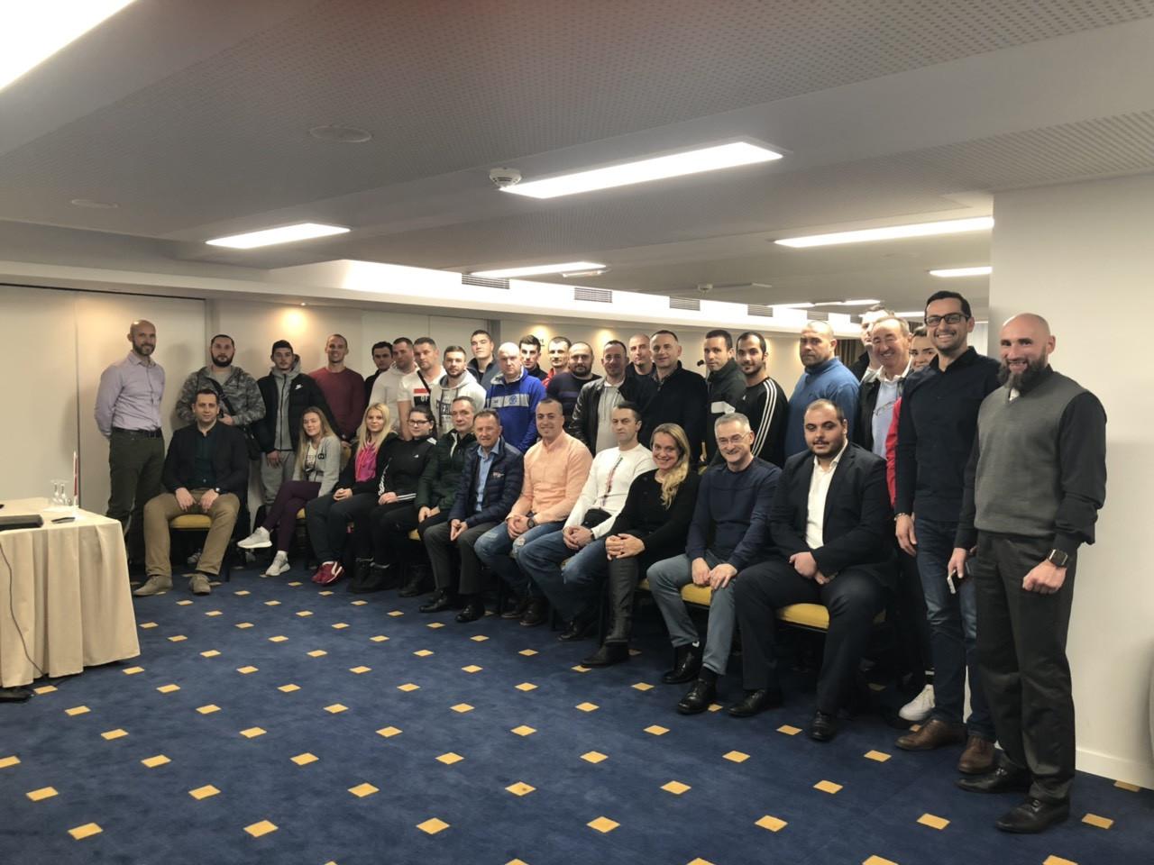 World Taekwondo Europe have held their first coaching seminar in Sarajevo ©WTE