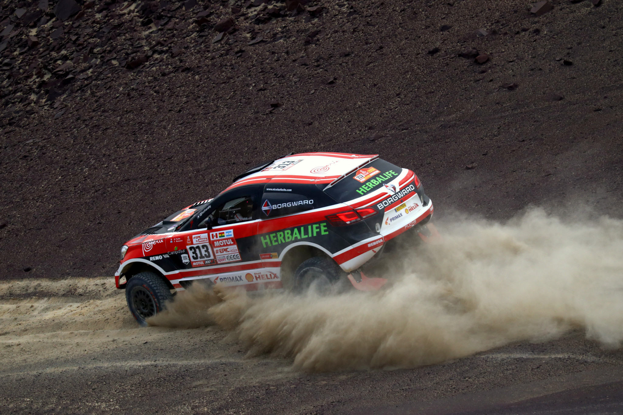 Nicolas Fuchs Sierlecki also took part in the Dakar Rally in 2018 ©Getty Images